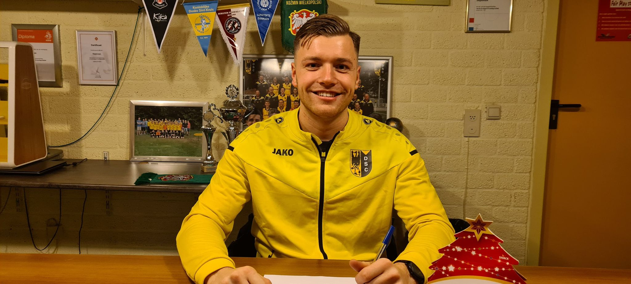 Dave Willemsen: Voor het vierde jaar selectietrainer bij VV Diepenveen