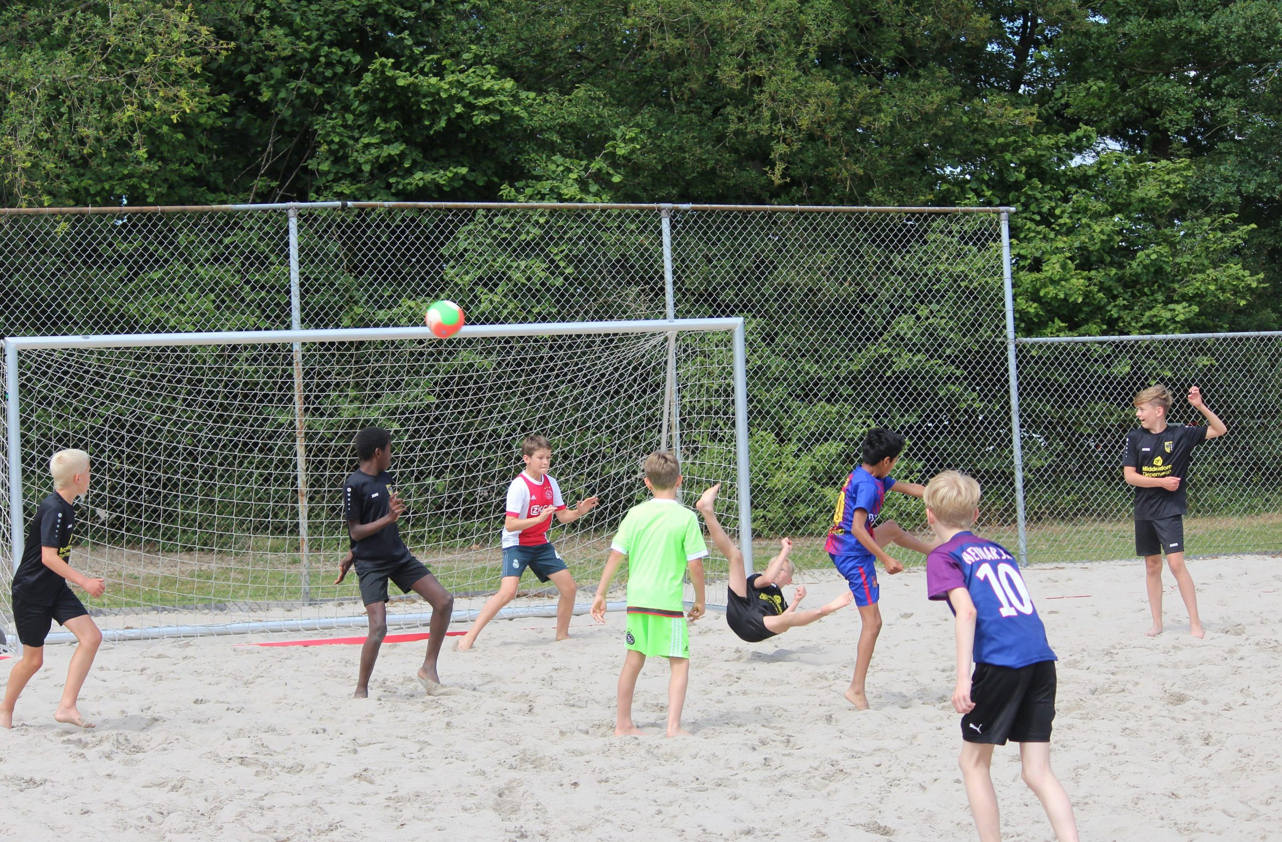 Foto's Beach-Soccer mini's – O13