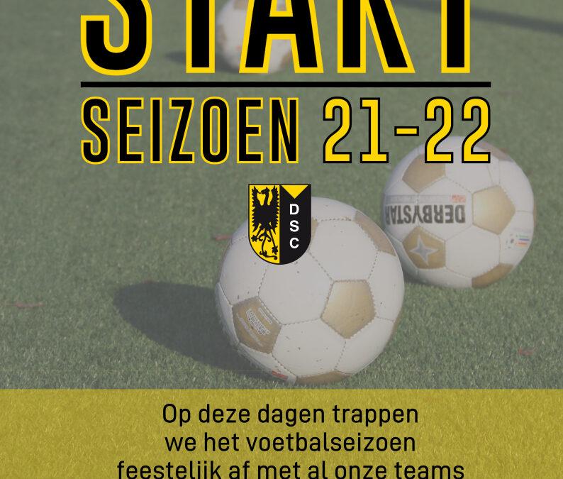 Sportieve start van seizoen 21 – 22 bij vv Diepenveen!